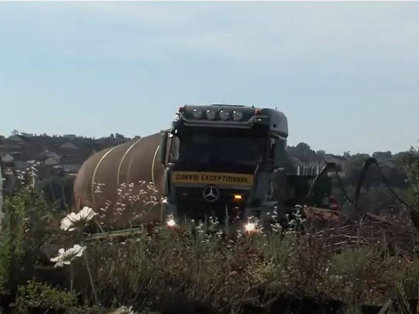 Une cuve de fuel de 100 m3 transformée en récupérateur d'eau de pluie