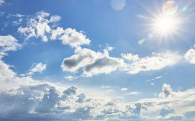 Enfin on aperçoit un coin de ciel bleu (coin photos)…